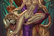 Dejah Thoris / by Roy Chi