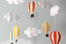 children's stuff: mobiles & garlands