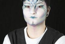 My makeup / Make up, fashion, fantasy makeup, makeup works.