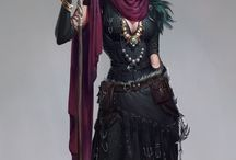 Mage character inspiration for RPG / Mage Wizard Sorcerer