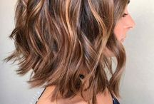 Shoulder length hair cut/style