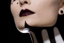 creative makeup idea / creative makeup idea