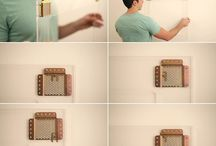 Beehive Picture Hangers / Revolutionary new picture hanger allowing you to adjust your pictures in ANY direction.  No measuring, no tilted frames. Best way to hang a picture or a series of pictures.