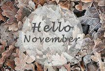 November! / Kalender til valgfag!