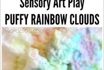 Sensory Activities / A variety of preschool sensory activities