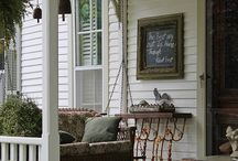 Porch Swing/ terassikeinu / Ideas for a porch swing