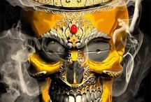 head skull mexican