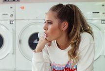 laundry photoshoot