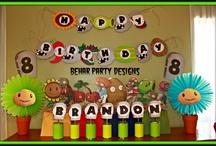 Plants vs Zombie Birthday Party Ideas