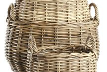 Baskets Baskets Baskets / All the baskets you could ever want found on www.Organizeit.com