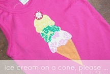 birthday: ice cream party ...