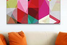 Canvas / wall art ideas