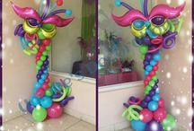 carnaval globos
