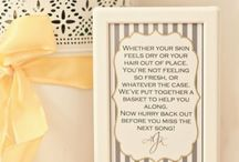 Wedding ideas - what do you think? / Do you like these ideas?
