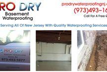 Basement Waterproofing Morris Plains NJ
