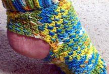 Crochet Socks, Legwarmers & Slippers Patterns / by Noël Crave