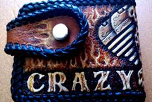 Crazy Biker Wallet