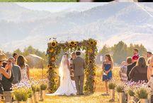 Wedding rustic