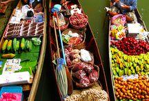 Market s in the world 1....mercati in giro per il mondo 1 / Colori e profumi