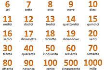 Italiano / Italian vocabulary / Talianske slovíčka