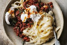 Pasta e basta / Delicous recipes with pasta