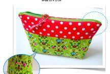 patchwork taschen und Täschchen