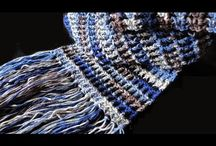Men's shawl crochet