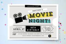 Movie Themed Birthday Party Ideas