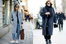 пальто + кросы