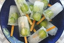 Ice Ice Baby / Cool down with one of these delicious ice lolly/popsicle recipes, healthy ice lollies, boozy ice lollies, fun popsicles, fruit pops, home made