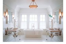 Bathrooms / by Cindy Hattersley Design/Rough Luxe Lifestyle Blog