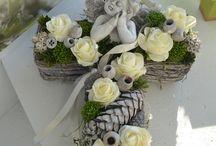 hrob kvetinky