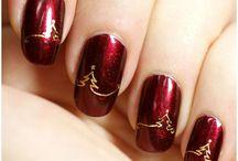 Nail Art  |  Christmas