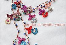 crochet jewelry & more