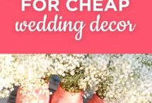 wedding decorations for cheap