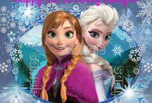 Frozen Birthday / Frozen theme Bday stuff