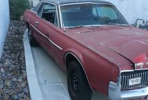 Used 1967 Mercury Cougar for Sale ($8,250) at San Diego , CA / Make:  Mercury, Model:  Cougar, Year:  1967, Exterior Color: Red, Interior Color: Black, Vehicle Condition: Fair, Mileage:25,430 mi, Fuel: Gasoline, Engine: 8 Cylinder, Transmission: Automatic, Drivetrain: 2 wheel drive.   Contact:619-379-7861  Car Id (56112)