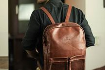 Travel Bags / Old School Travel Bag- This old school bag is a reminiscence of the classic school backpack. visit to buy now: http://goo.gl/pv0N3Y www.thecobbleroad.in