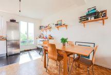 Appartement à vendre - Paris 18e / Appartement 2 pièces situé à 2 pas du Marché de l'Olive - 40m2  - Clarté et calme au rendez-vous
