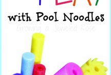 Different Uses for Pool Noodles