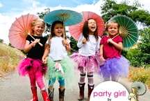 Party Girl Kit by Pamela's Parasols / the coolest DIY for your little girl and her friends! http://pamelasparasols.com/New2010/index.html