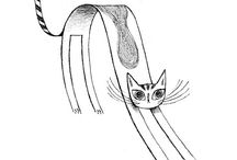 cat illustrations / by yonit kg