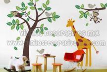 Vinilos Infantiles / by Vinilos Decorativos MX Mexico Decoracion de interiores con vinil decorativo