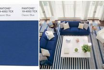 Pantone Spring Colour Trends / Choose softer colors and get inspired by nature when redecorating this spring.