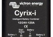 Batteri tilbehør til 12V/24V solcelleanlæg / Konverter, monitor, kontakter, skillerelæer til solcelleanlæg