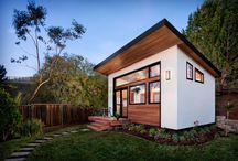 TINY HOUSE / I was looking at designs to apply to studio apt. on Duffosat at one time, now I'm looking for design for Austin & Lorien's Skoolie.  And I'm just obsessed with them.