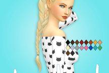 Sims 4 cc hair