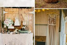 Wedding Wood and Lace