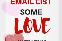 Email List-Building Tips / Want to grow an awesome email list? Check out this board!
