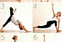 Morning yoga sequences